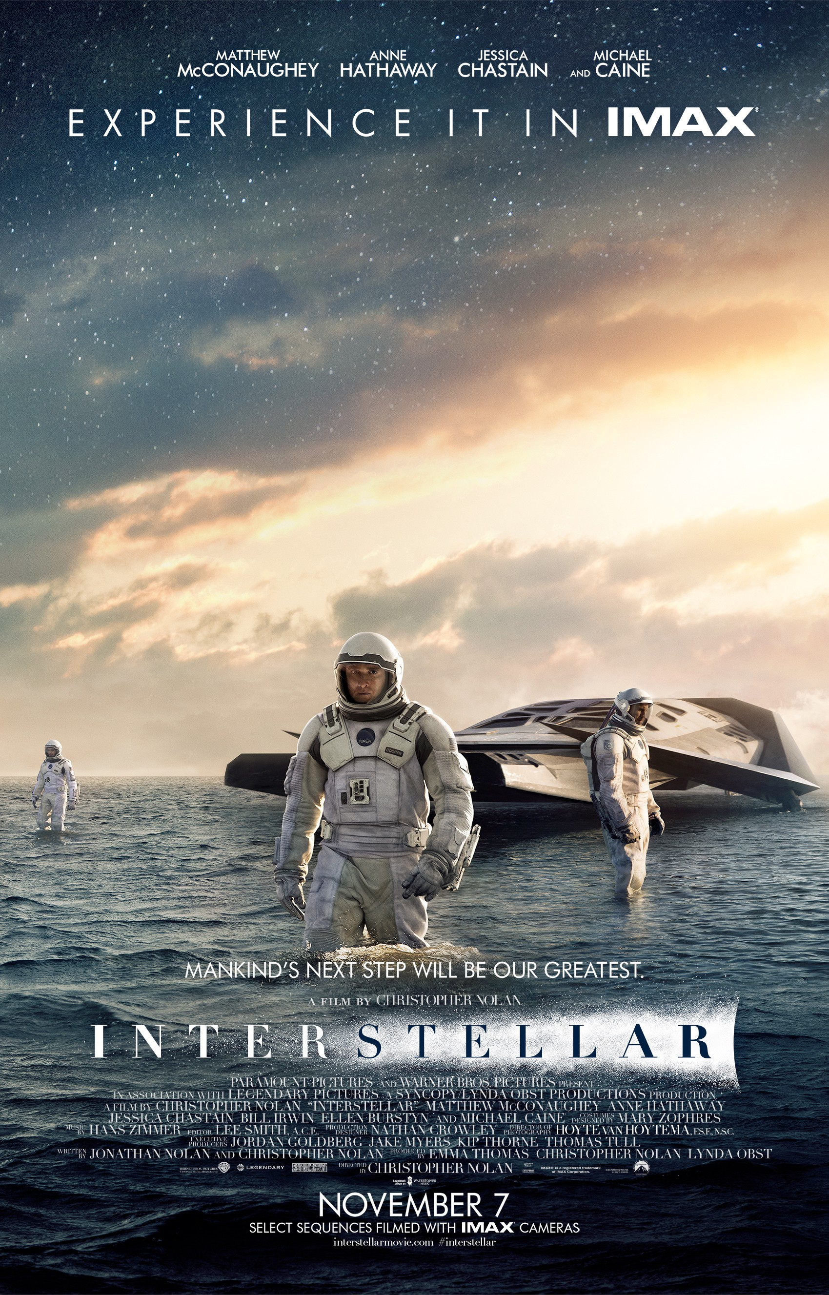 Interstellar poster / Интерстеллар